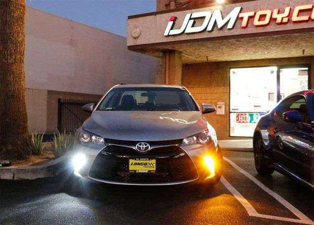 LED лампы в Toyota Camry