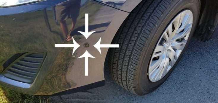 Парктроник для Тойота Камри