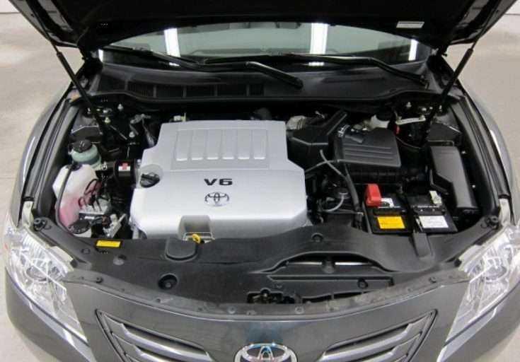 Toyota Camry с двигателем 3.5L