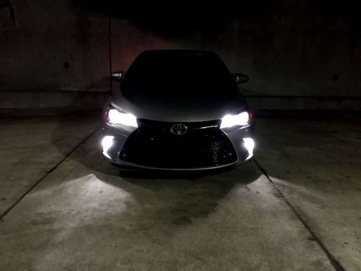 Ксенон на Toyota Camry