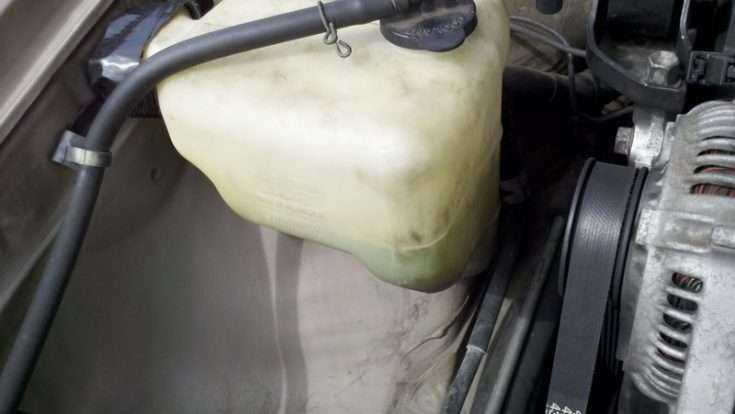 Расширительный бачок Toyota Camry