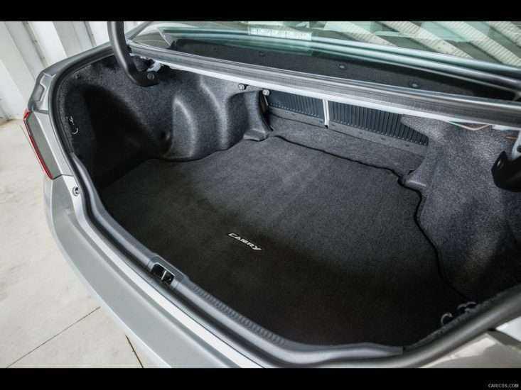 Багажник в Toyota Camry 2015