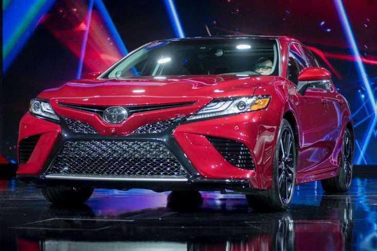 Презентация новой Toyota Camry