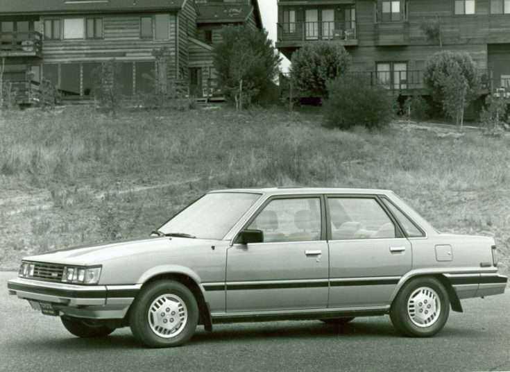 Первая Тойота Камри