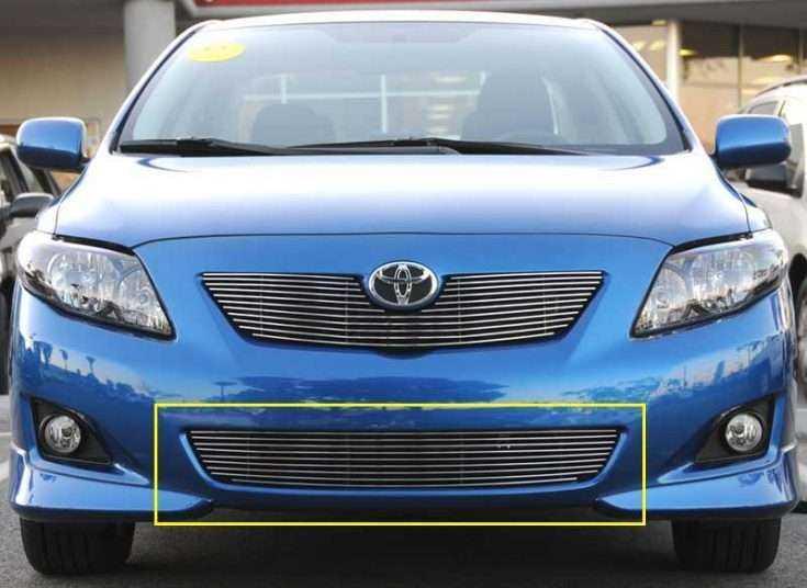 Тюнинг решетка на Toyota Corolla