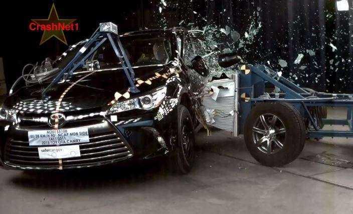 Испытания Toyota Camry