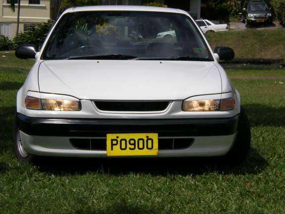 Реснички на фары Toyota Corolla 1996