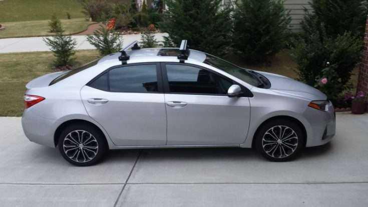 Багажник на крышу Toyota Corolla