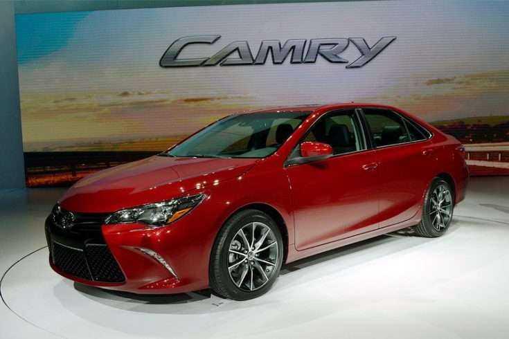 Toyota Camry презентация