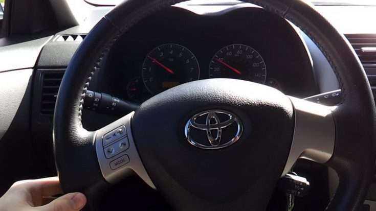 Руль от Тойота Королла