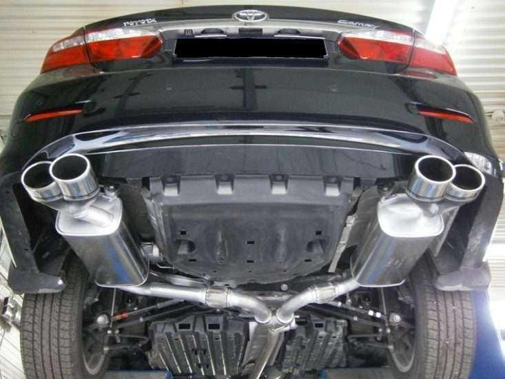 Тюнинг выхлопной системы Toyota Camry