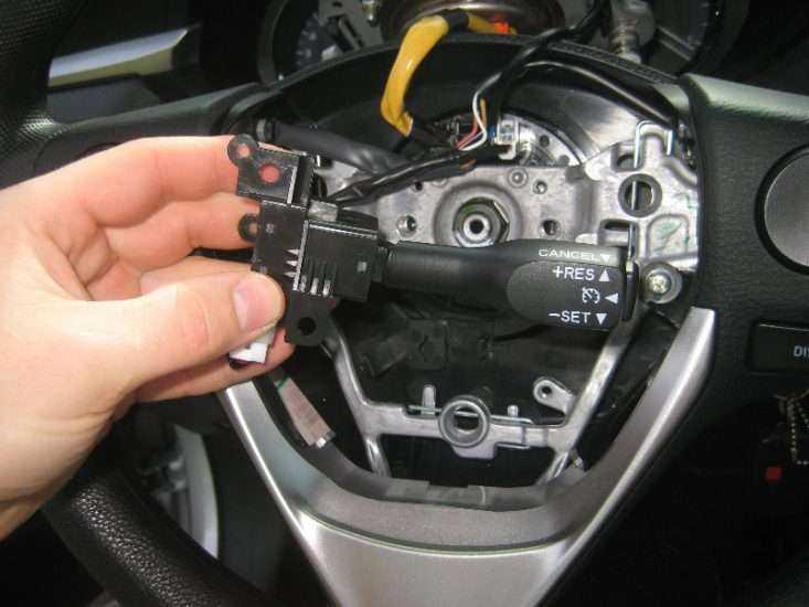 Установка круиз контроля на Toyota Corolla