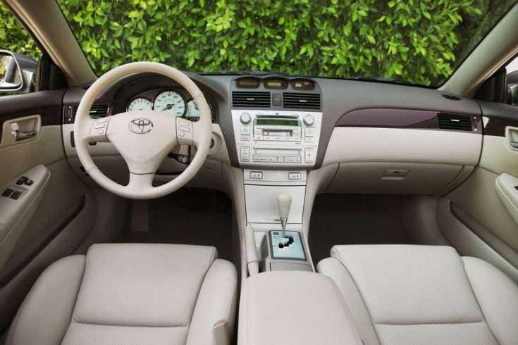Салон Toyota Camry Solara