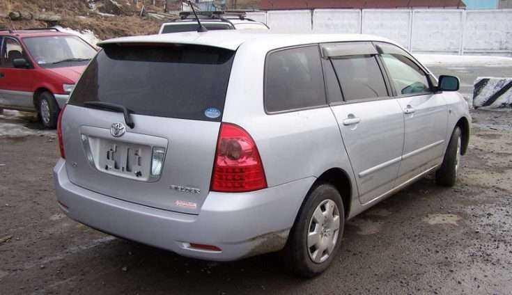 Toyota Corolla Fielder 2004