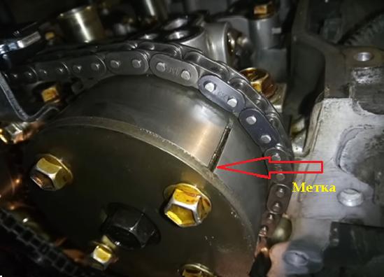 Замена цепи ГРМ на Тойота Королла 3