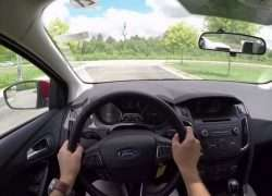 Фото с места водителя Ford Focus