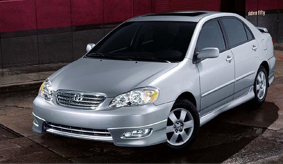 Фотография Toyota Corolla 2007