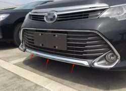 Фотография переднего бампера Toyota Camry