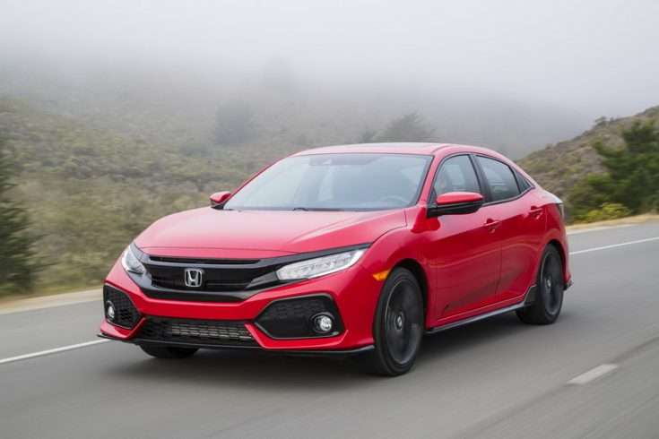 Honda Civic 2017-го года выпуска