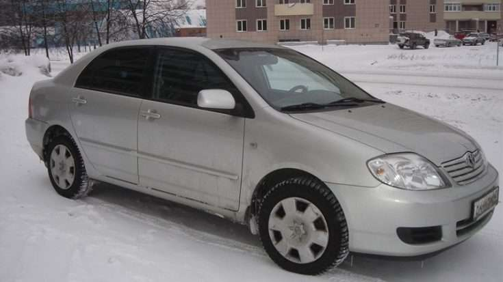 Toyota Corolla 120 фотография