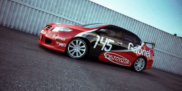 Toyota Corolla тюнинг фото