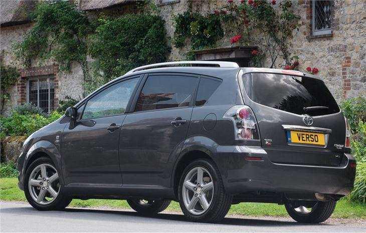 Внешний вид Toyota Corolla Verso