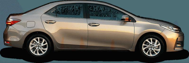 Внешний вид Toyota Corolla