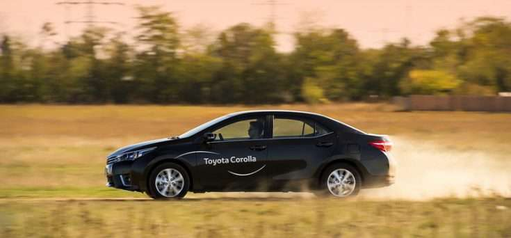 Драйверские качества новой Toyota Corolla 2017
