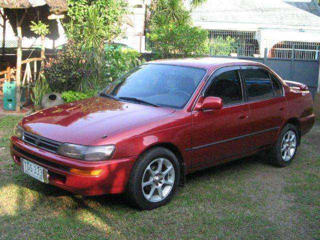 Фотография Toyota Corolla 1994