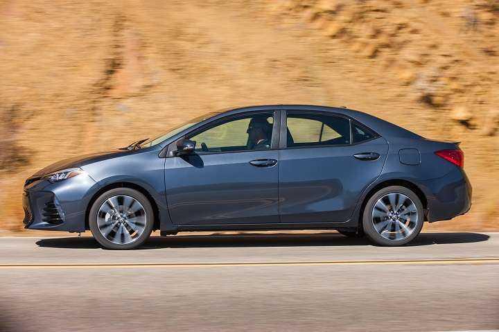 Ходовые качества Тойота Королла 2017