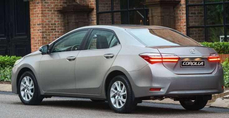 Как выглядит Toyota Corolla Altis