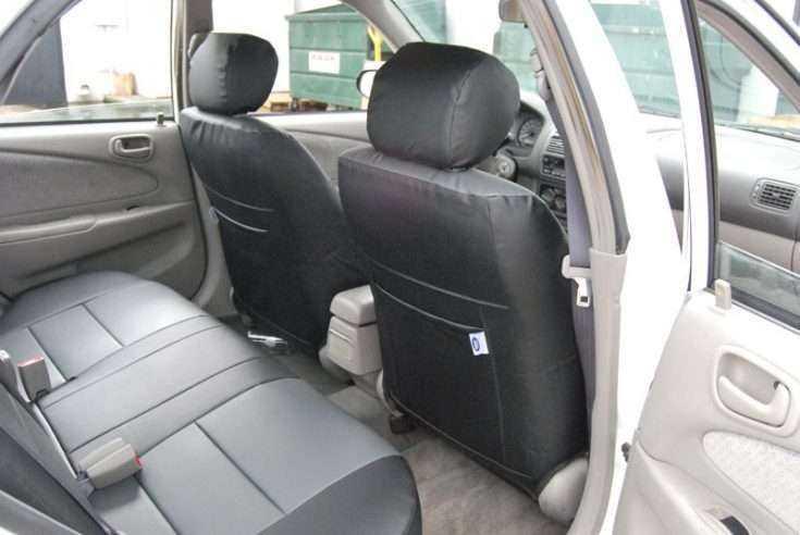 Комбинированные чехлы на сиденья Тойота Королла