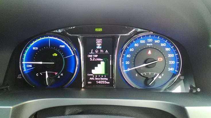 Небольшой расход топлива на Toyota Camry