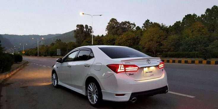 Тойота Королла 2014 в тюнинг обвесе