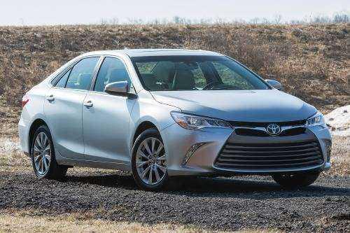 Toyota Camry на внедорожье