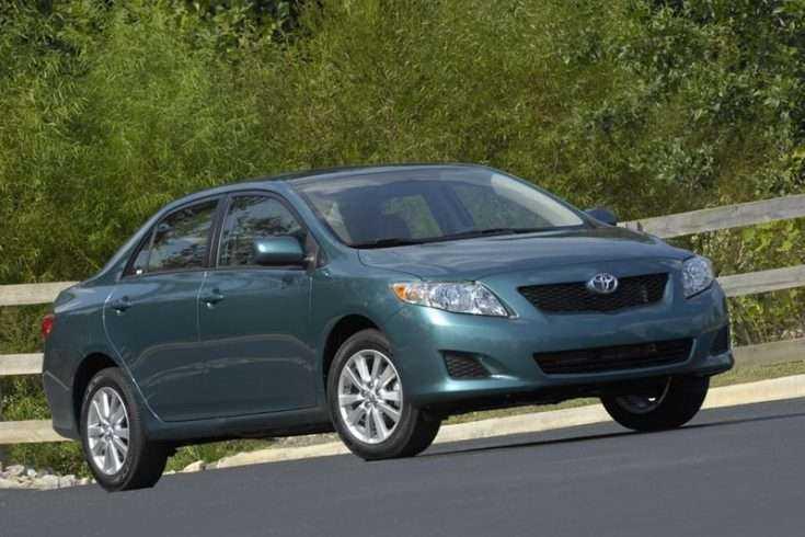 Внешний вид базовой Toyota Corolla 2009