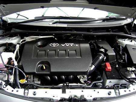 Двигатель Toyota VVT I