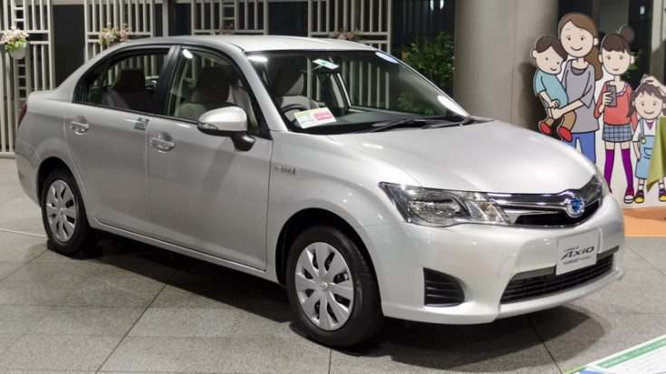 Фото Toyota Corolla Axio 2013