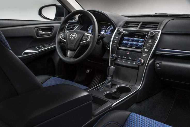Тойота Камри - комплектация Standart Plus