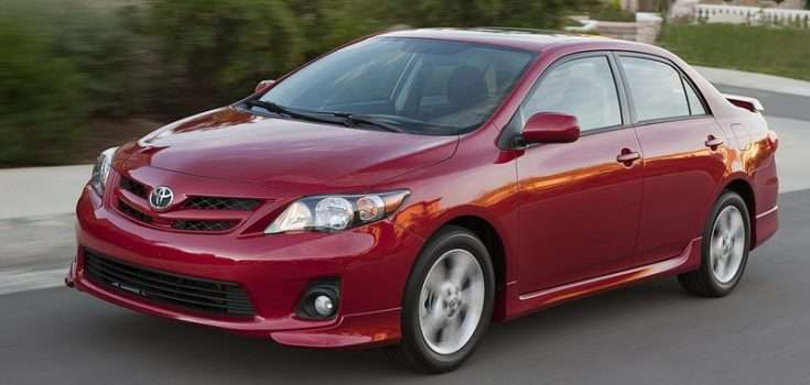 Toyota Corolla 2011-го года выпуска