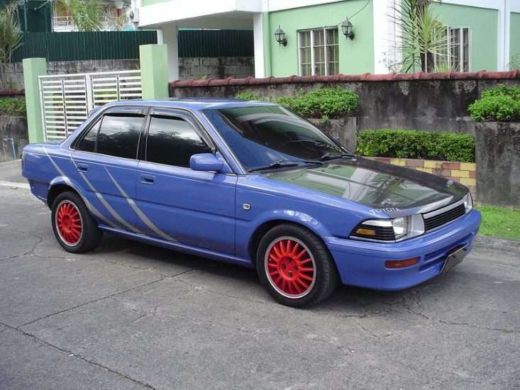 Тюнинг Toyota Corolla 1990 г.в.