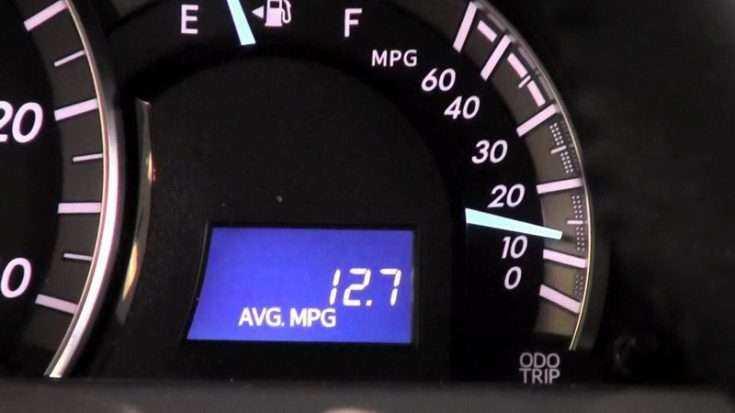 Увеличение расхода топлива на Тойота Камри