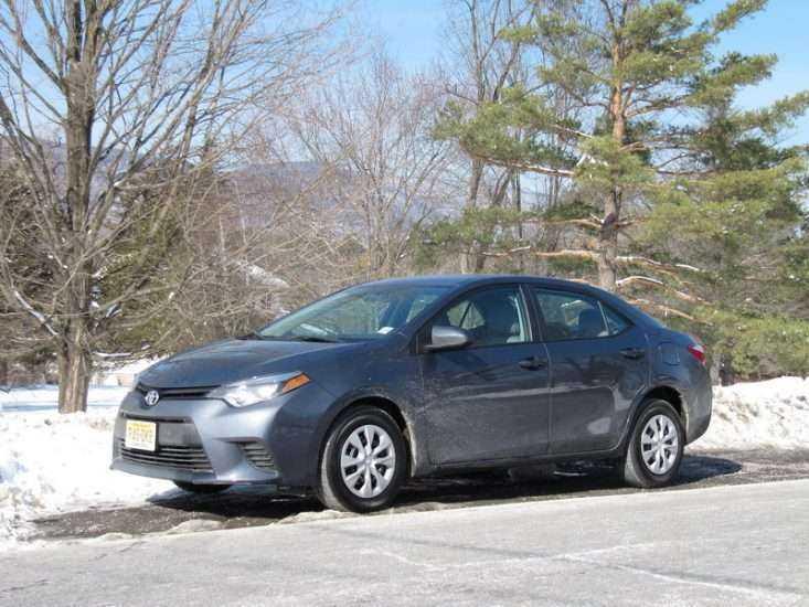 Зимняя эксплуатация Toyota Corolla