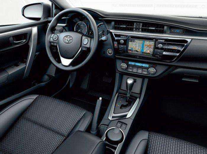 Тюнинг салона Toyota Corolla