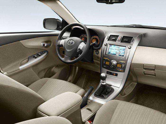 Нестандартный салон в Toyota Corolla