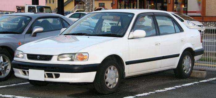 Изменения в Toyota Corolla E110
