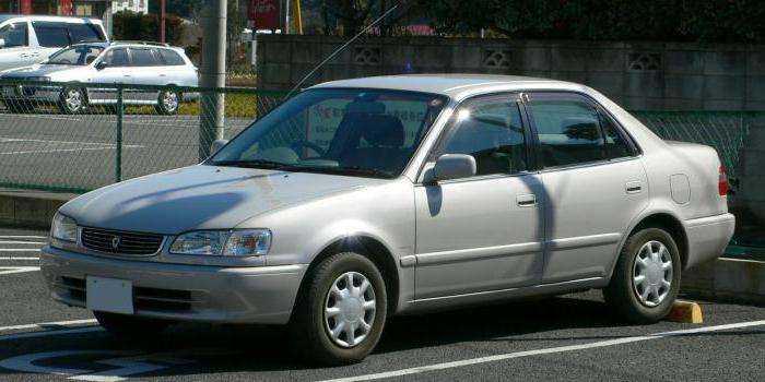 Фото в профиль Toyota Corolla