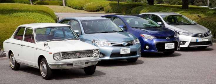 Модельный ряд Toyota Corolla