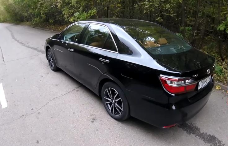 Экстерьер комплектации Exclusive Toyota Camry