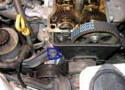 Процесс замены помпы на Toyota Corolla